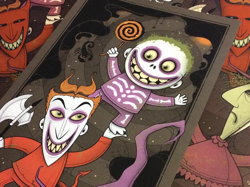 Print Sale - Nightmare Before Christmas - Mondo