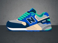 New Balance 999 - Urban Exploration