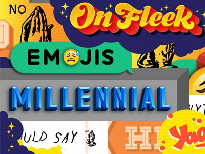 Words Marketers Should Never Use millennial editorial lettering adweek