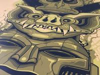 Nightmare Relic - Print detail