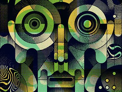 OAR 2017 Tour Poster 6 of 10 illustration gigposter screenprint poster oar