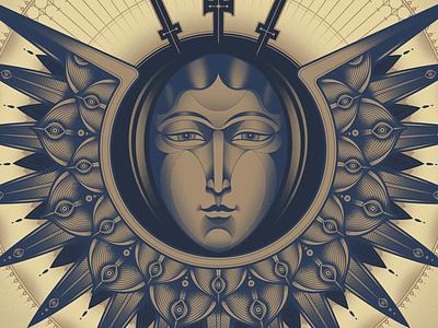 Guardian Angel guardian angel medieval illustration angel