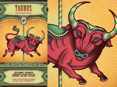 Flight Club - Taurus taurus menu cocktail circus flight club