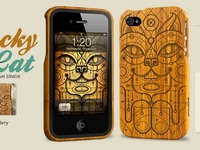 Lucky Cat iPhone case for Grove