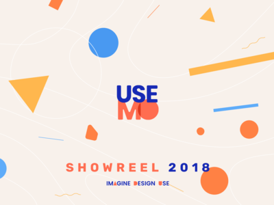 Usemo Showreel illustration website interface ux ui explainer video animation motion showreel