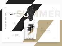 XYZ Clothing - UI design