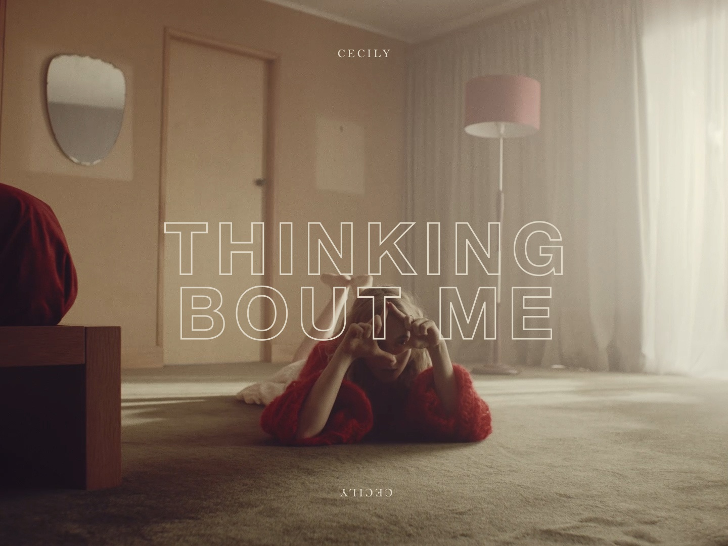 Cecily - Thinking Bout Me creative direction film music video directing design art direction typography