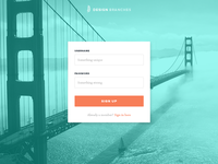 Daily UI Challenge 001 Signup Form