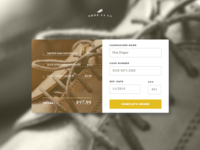 Credit Card Checkout #dailyui #002