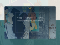 Cooper WordPress Theme WIP