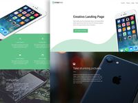 Creativo Landing Theme Design