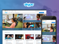 Skype Blog Redesign