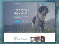 We Rate Dogs Landing Page Sample