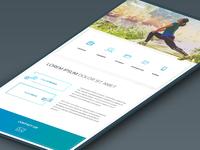 Bionic - Sports Landing Page