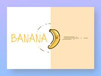 Just some banana