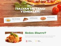 Sbarro Website