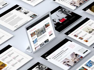 Qruis - Website Design curious india reading startups tech media news ux ui website