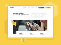 RepairBee Website