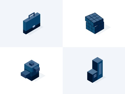 Illustrations for MailControl cubes business solve probem authority serious sharp illustrations threat spymail email control mail