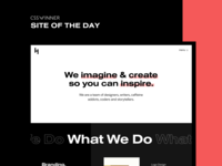 Site of the Day - CSS Winner