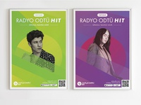 Posters for Radio ODTU Hit