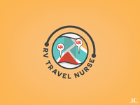 RV Travel Nurse Logo