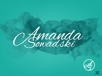 Amanda Sowadski Logo & Icon Design