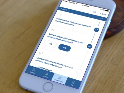 Inspection To Do user experience user interface design to do inspectiond app ios