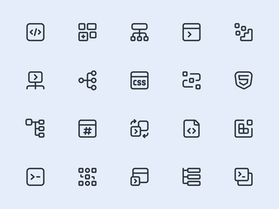 Myicons — Business, Products line icons
