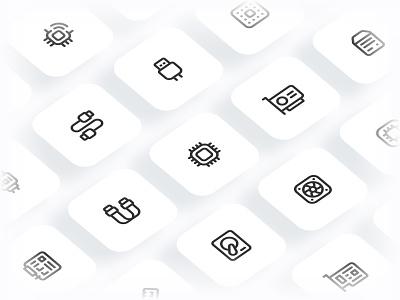 Myicons — Hardware, Components vector line icons pack web ui web designer web design ui set ui pack ui kit ui icons ui designer ui design ui myicons line icons interface icons icons pack icons design icons icon pack icon design flat icons essential icons