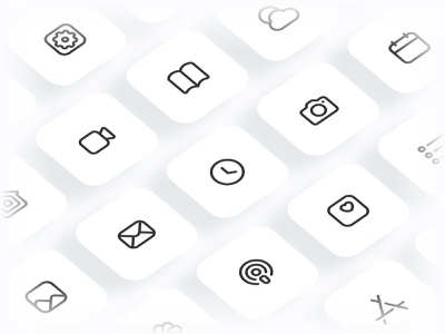 Myicons — Apple, iOS 14 icons vector line icons pack ios icons ios14 web ui web designer web design ui set ui pack ui kit ui icons ui designer ui design ui line icons interface icons icons pack icons design icons icon pack icon design