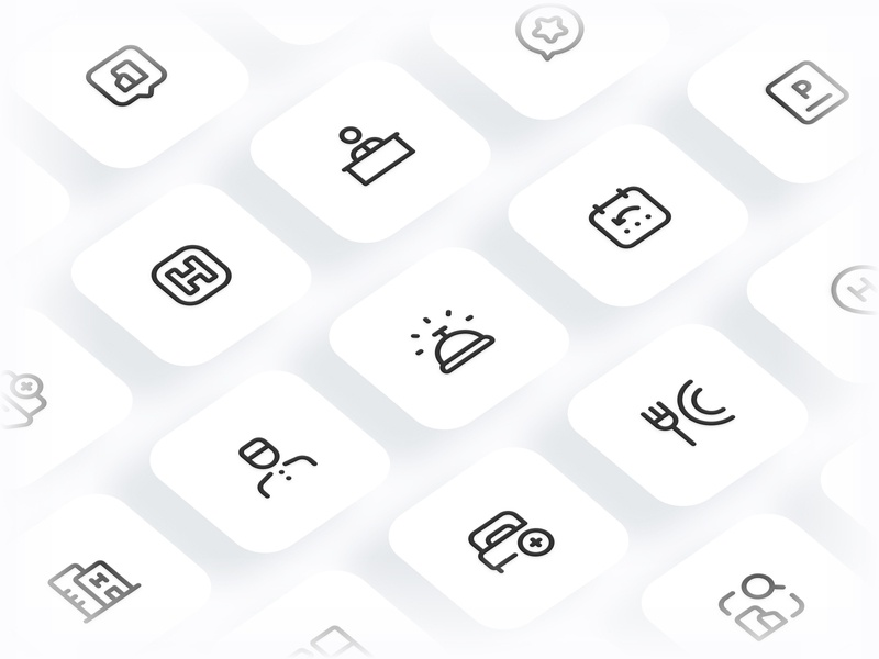 Myicons✨ — Hotels vector line icons pack sketch web ui web designer web design ui set ui pack ui kit ui icons ui designer ui design ui sketchicons line icons interface icons icons pack icons design icons icon pack icon design essential icons