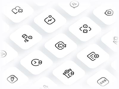 Myicons✨ — Health, Medicine vector line icons pack sketch web ui web designer web design ui set ui pack ui kit ui icons ui designer ui design ui sketchicons line icons interface icons icons pack icons design icons icon pack icon design essential icons