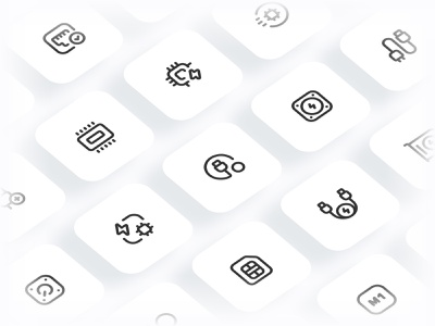 Myicons✨ — Hardware, Components vector line icons pack sketch web ui web designer web design ui set ui pack ui kit ui icons ui designer ui design ui sketchicons line icons interface icons icons pack icons design icons icon pack icon design essential icons