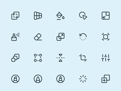 Design, Tools line icons