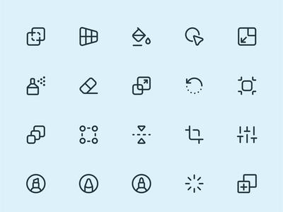 Design, Tools line icons