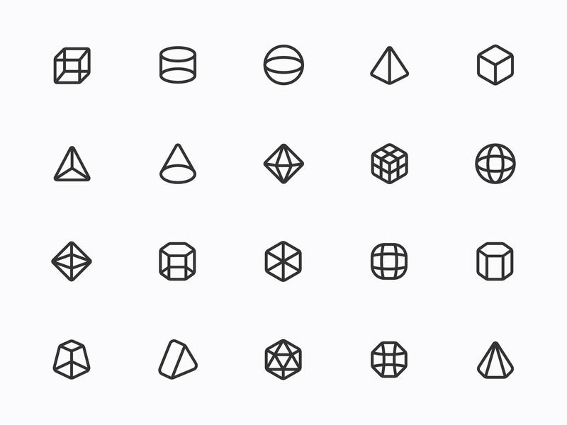Myicons — Geometric, Abstract line icons icon web design ui icons web designer ui web design ui kit icons set icons design icon collection icons pack interface icons icon set icon design myicons line icons icons flat icons ui designer ui design ui