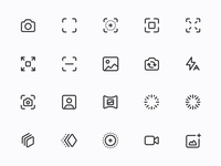 Myicons — Photos  line icons