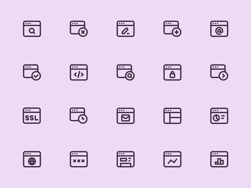 Myicons — Web, Browser line icons icon collection icon set icons ui web design web design essential icons ui kit icon pack icons design web designer icon design icons pack interface icons flat icons myicons line icons ui designer ui icons ui design ui