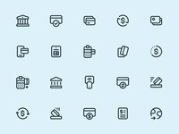 Myicons — Payments, Finance line icons