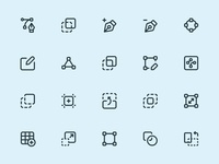 Myicons — Design, Tools vector line icons