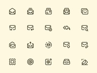 Myicons — Email, Mails line icons