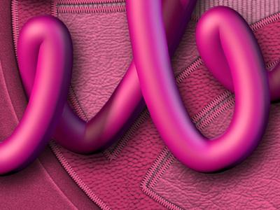 Debut closeup closeup dribbble typography text effect 3d
