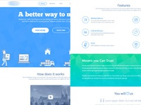 Movers Landing Page