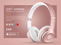 Beats headphone Design Concept