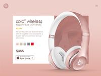 Beats headphone Design Concept 2