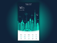 Night Weather App