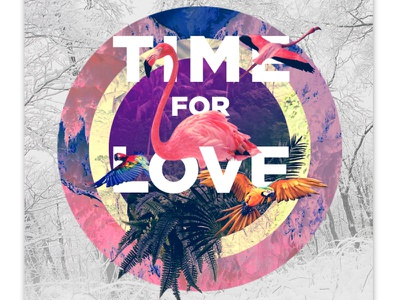time for love graphic design