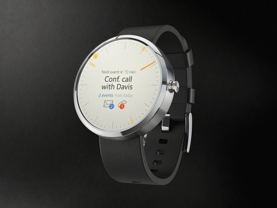 Moto 360 concept concept design ux android moto watch interface ui