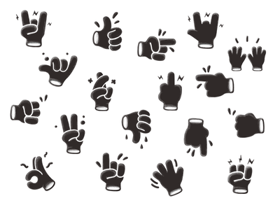 Hands — Stickers
